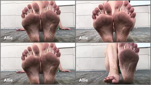 Allie  Dirty Foot Fetish POV preview