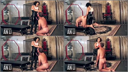 Pegging – An Li's Ass Emporium – Busted and Slutted –  Mistress An Li