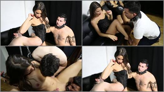 Arab Mistress Clip store  Mistress Cassies new slave   Cassie Roze preview