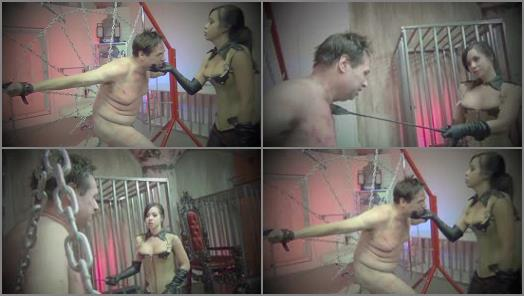 Beating – Asian Cruelty – SAVAGELY WHIPPED TO OBEDIENCE –  Empress Kimmy Lee