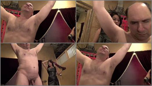 Asian Femdom – Asian Cruelty – STRIPPED, WHIPPED AND RIPPED PART 2  Starring Goddess Angelina