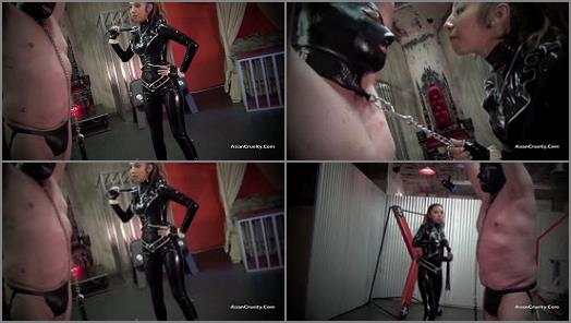 Gloves – Asian Cruelty – TASTE THE EXQUISITE AGONY OF MY LETHAL WHIP –  The Goddess Katamura