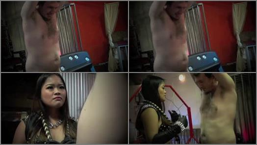 Female Domination – Asian Cruelty – WHIPPING HIM MERCILESSLY PART 2 –  Astro Domina