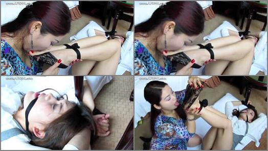 Asian Foot Worship  Bondage Madness preview