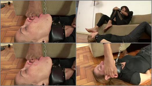 Foot slave training – BRAZIL FEET – Mistress Fernanda – Lick Fernanda's Delicious Feet Size 10 part 2