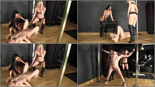 Balls Busting – Ballbusting World PPV – BB1214 Right Where They Want Him –  Chloe and Sophia