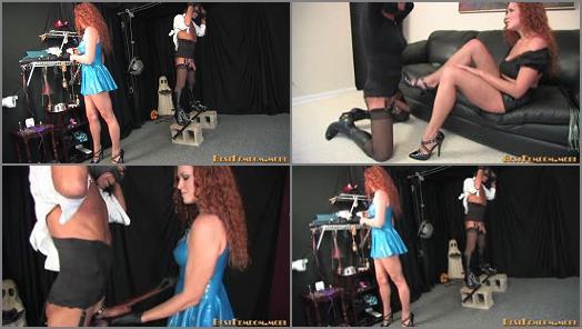 Forced Orgasm – Best Femdom – Ball Abuse –  Mistress Sabrina