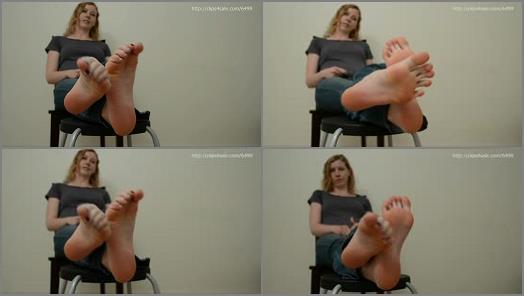 Big soles – Big Blonde's GIGANTIC SOLES! Size 11!! Super LONG toes!