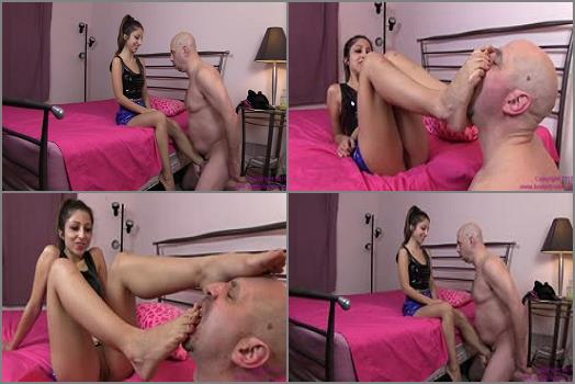 Foot Roship – Brat Princess 2 – Alexa – Old Fool Humors Princess to Earn Release