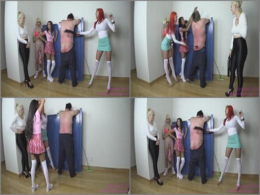 Flogging – Brat Princess 2 – Amadahy Jenna and Jennifer – Corporal Lab in the Hall
