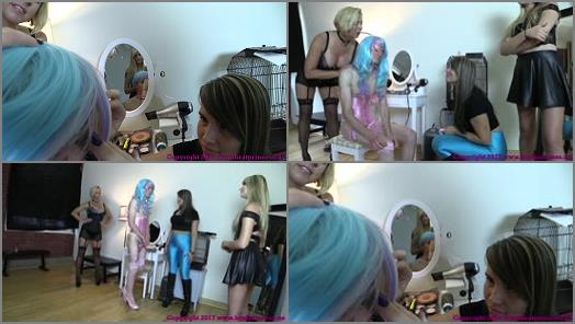 Forced Crossdressing –  Brat Princess 2 – BP – Sister and Friend Turn Brother into Sissy with Help from Mother