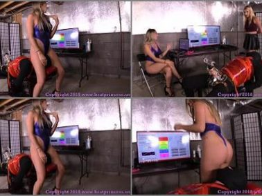 Milking Machine - Brat Princess 2 – BP – Teasers Try Out New Software at the Edging Salon Complete Part 4