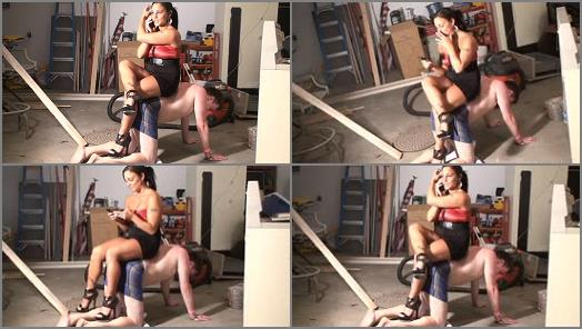 Brat Princess 2  Bella  Sits on her step brothers back and smokes preview