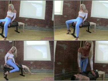 Face Siting - Brat Princess 2 – Cherry – Half Sized slave takes Full Weight Facesit