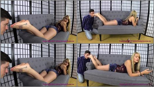 Female Domination – Brat Princess 2 – Chloe – First Time Chastity Boy Complains after First Week (Part 1 of 2)