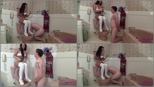 Virgin Mocking – Brat Princess 2 – Crystal – Virgin Wallet Slave Emptied and Humiliated