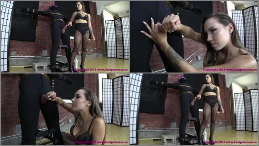 Edging – Brat Princess 2 – Sasha – 15 Minutes on the Edge with Huge Ruined Cumshot