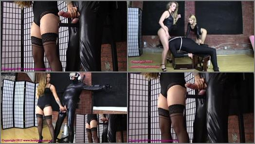 Bondage Male – Brat Princess 2 – Sasha – Heavy Bondage Ruined Handjob (Two Cumshots Two Angles…