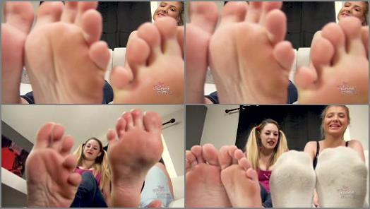 Pov – Bratty Foot Girls – Aubree and Maia Total Foot Humiliation