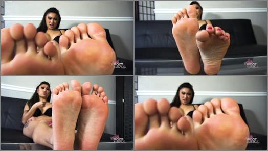 Barefoot – Bratty Foot Girls – Nicole Oring Destroys foot perverts