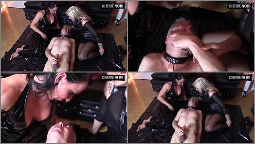 CHERIE NOIR  HARD AND UNCUT  Extreme Domination kisses preview