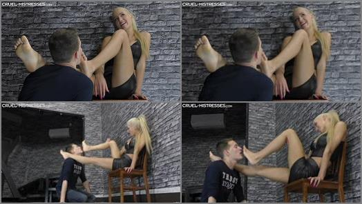 Foot domination – CRUEL MISTRESSES – Mistress Ariel – Ariel's perfectly soft soles