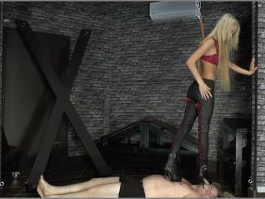 High Heels -  CRUEL MISTRESSES – Slave got trampled -  Mistress Ariel