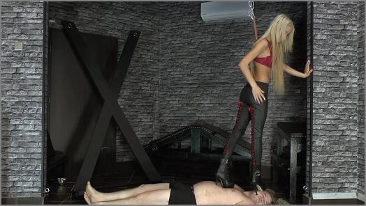 CRUEL MISTRESSES  Slave got trampled   Mistress Ariel  preview