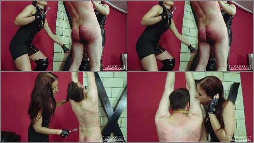Domina Amazon – CRUEL PUNISHMENTS – SEVERE FEMDOM – Hard times with Maggie and Anette part2 –  Lady Maggie and Lady Anette