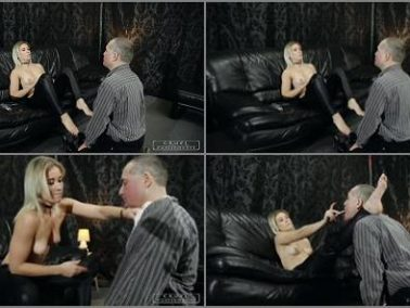 Facebusting -  CRUEL PUNISHMENTS – SEVERE FEMDOM – Slapped all over -  Mistress Anette