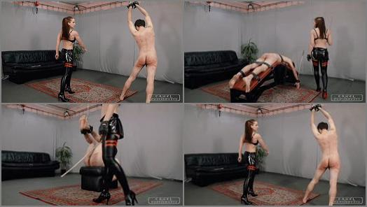 Hard Whipping Bullwhip – CRUEL PUNISHMENTS – SEVERE FEMDOM – Three brutal punishments II –  Lady Anette