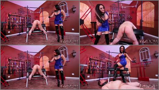Boots –  ClubDom – Goddess Sheena Ryder Punishes Her Slave