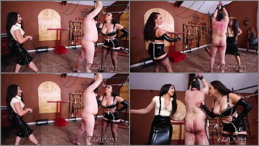 Corporal Punishment –  ClubDom – Jewell And Tangent Whip The Ass Slave