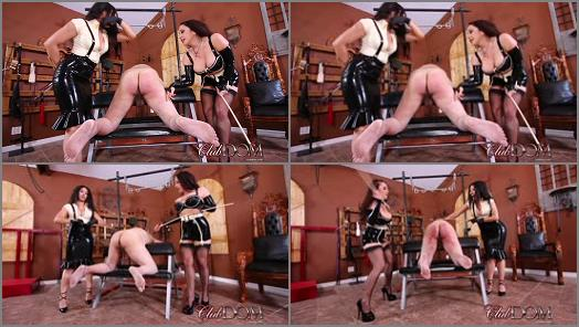 Canning –  ClubDom – Jewell and Tangent Cane the Ass slave