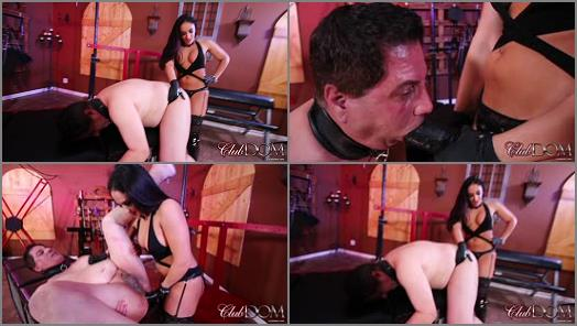 Femdom –  ClubDom – Take Goddess Sheena's Huge Black Cock –  Goddess Sheena