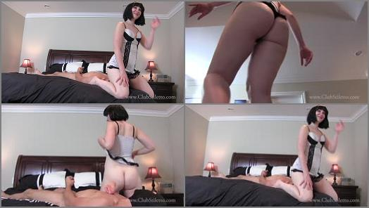 Cuckolding – Club Stiletto FemDom – 10 Men Came In My Ass, Smell It, Eat It –  Princess Lily