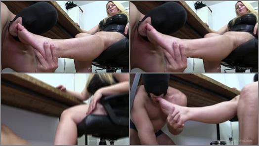 Shoe Fetish –  Club Stiletto FemDom – FemCorp Office Foot Bitch –  Princess Skylar