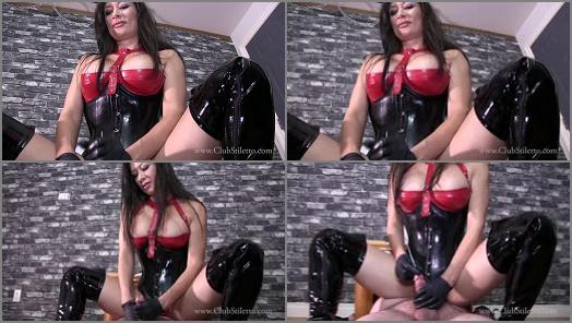 Cock Tease –  Club Stiletto FemDom – Push It Out With Your Cum –  Miss Jasmine