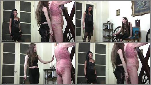 Corporal Punishment – Cruel Mistresses – Cruel Godess and Her Guest –  Mistress Tatjana and Mistress Victoria