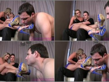 Shoe Licking - Cuckoldress Cameron and Friends – Cali Carter – Makes Out With Date While Cuck Worships Shoes