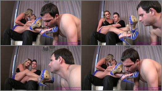 Shoe Licking – Cuckoldress Cameron and Friends – Cali Carter – Makes Out With Date While Cuck Worships Shoes
