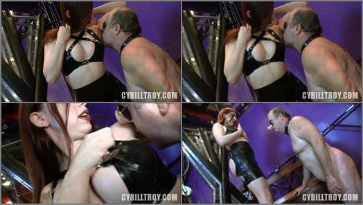 Cybill Troy FemDom AntiSex League  Armpit Cleaner  Starring Mistress Maya Midnights preview