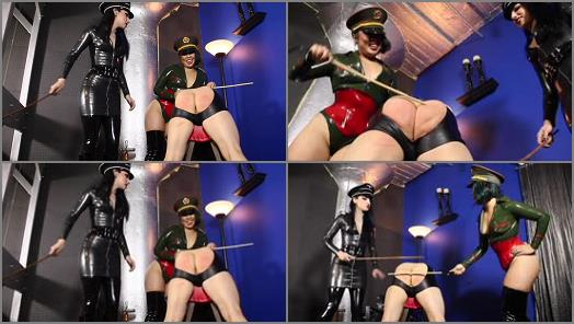 Pain – Cybill Troy FemDom Anti-Sex League – Double Cane Thrashing  Starring Mistress An Li and Cybill Troy