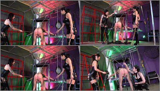 Caning – Cybill Troy FemDom Anti-Sex League – Scream For More –  Cybill Troy and Luna Li