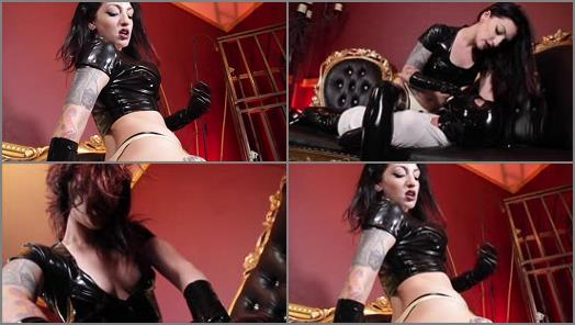 Gloves – Cybill Troy FemDom Anti-Sex League – Sweat-Dripping Rubber Thong Ass Smothering