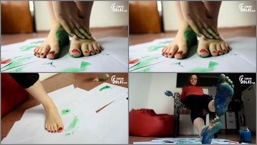 Barefoot – Czech Soles – Foot And Soles Painting And Soleprints