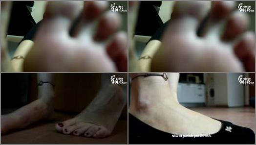 Czech Soles  Giantess Huge Feet Domination preview