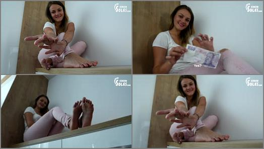 Barefoot – Czech Soles – Megan – Mean Verbal Humiliation And Findom