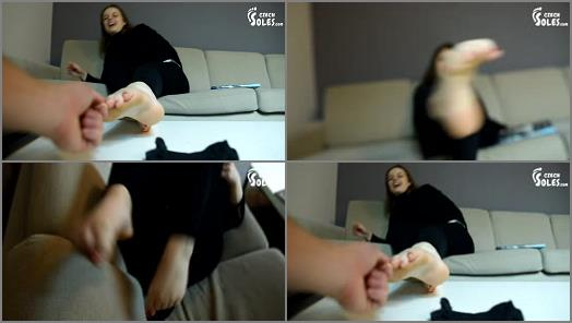 Wrinkled soles – Czech Soles – POV Foot Play Tickling And Foot Worship