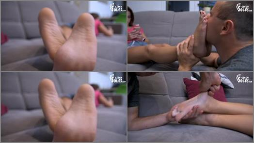 Toes fetish – Czech Soles – Step-Sister's Irresistible Feet